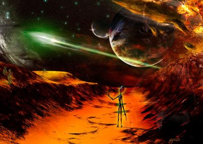 Space; Sci-Fi; Spaceship; Alien; Planet