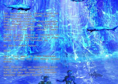 Fantasy; Underwater; Atlantis; Town; Diver