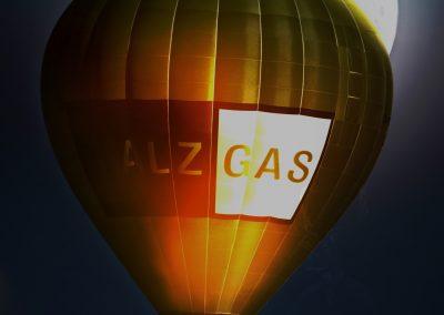 PS CS3 Bildbearbeitung; Ballon; Night; Fullmoon