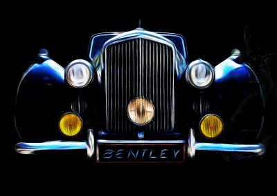 Image Editing; Bentley; Oldtimer; Glowing