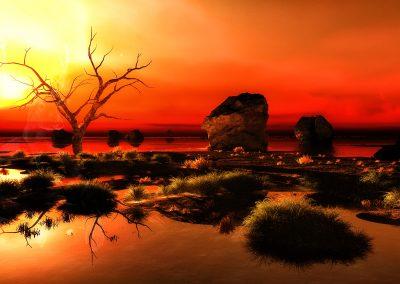 Seascape; Evening; Sundown; Atmosphere
