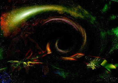Space; Sci-Fi; Spaceships; Black Hole; Vortex