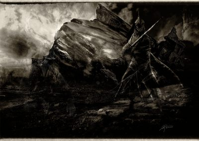 DarkArt; Evil; Angmar; Vortex; Black & White