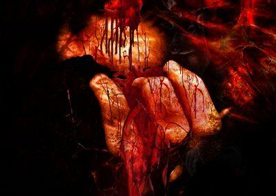 DarkArt; Blood; Evil; Texture
