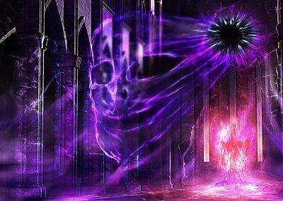 DarkArt; Cathedral; Demon; Evil; Texture