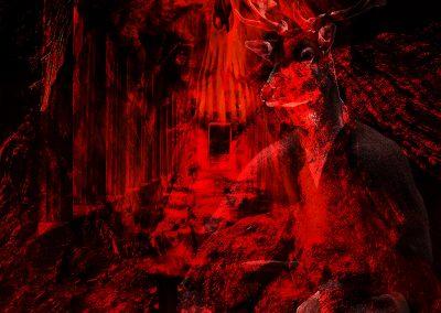 DarkArt; Skull; Evil; Cave; Texture