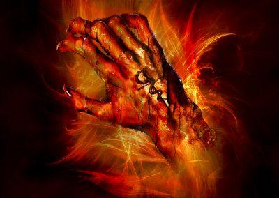 DarkArt; Hand; Clawfinger; Tattoo