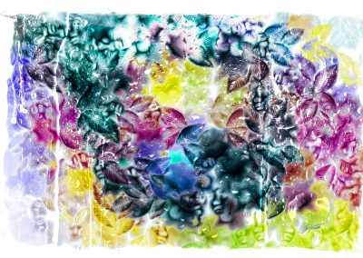 Brushes Pic; Painting; Abstract; Leaves; Colours; Colourful; Condensation