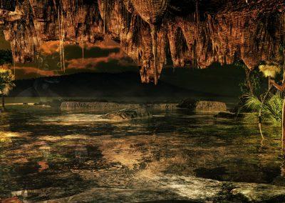 Landscape; Cave; Water; Stalactites; Stalacmites