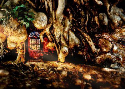 Composing; Fantasy; Guardian; Door