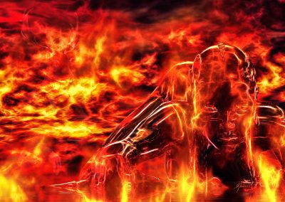 DarkArt; Character; Hot; Fire