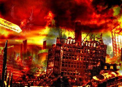 DarkArt; Apocalypse; Destruction; Chaos; Fire