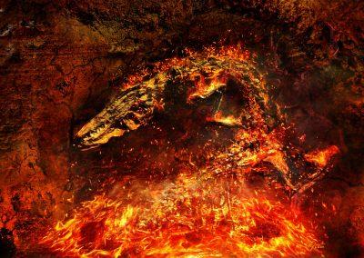 Abstrakt; Fossil; Fire; Flames; Sparks