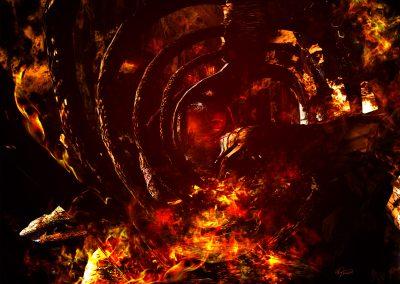 DarkArt; Hell; Evil; Skeleton; Fire
