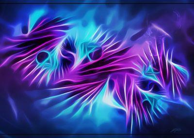 Abstrakt; Glowing; Fractals