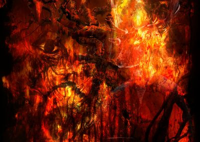 Abstrakt; Dark; Faces; Mystic; Grunge