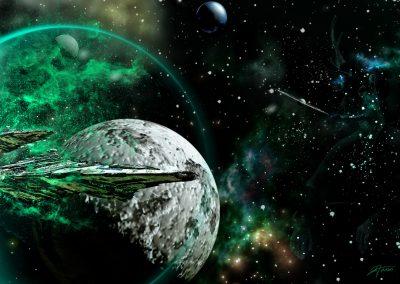 Space; Sci-Fi; Spaceship; Wormhole