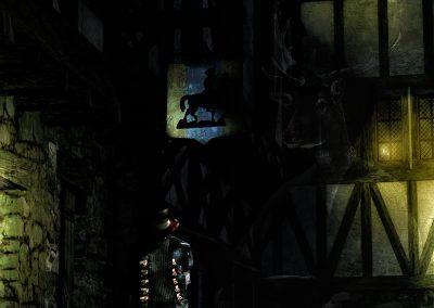DarkArt; Night; Ripper; Dark Alley