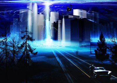 DarkArt; Apocalypse; Destruction; Light Ray