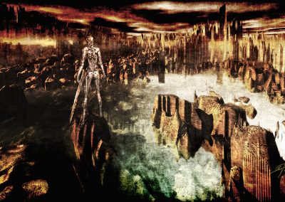 DarkArt; Apocalypse; Destruction; Cyborg