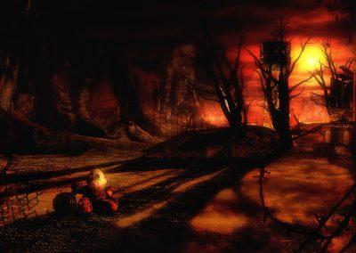 DarkArt; Apocalypse; Destruction; Teddybear; Gas Mask
