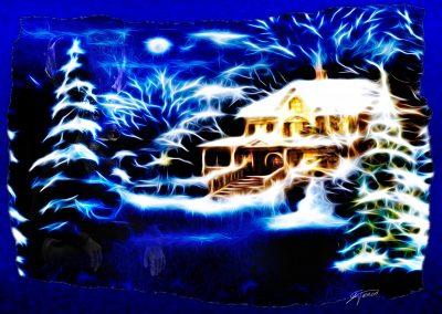 Image Editing; Winter; Christmas; Snow