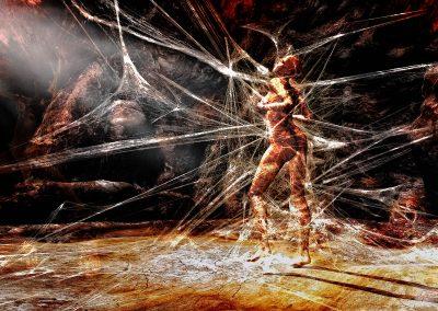 DarkArt; Metamorphosis; Cobwebs; Cave