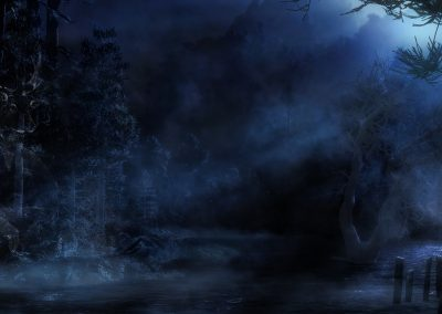 Landscape; DarkArt; Mystic; Sea; Fog; Mist; Night