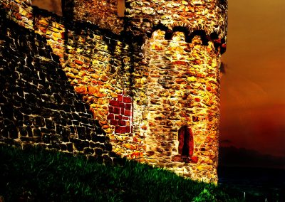 PS CS3 Picture Editing; Castle; Evening; Atmosphere