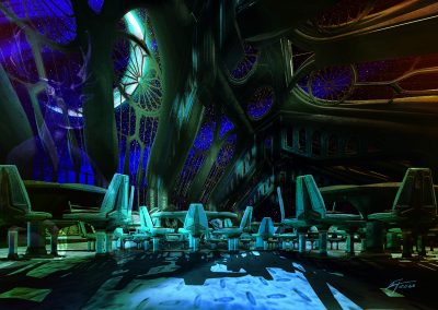 Space; Sci-Fi; Space - Cathedral