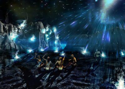 Fantasy; DarkArt; Maya; Prophecy; The End