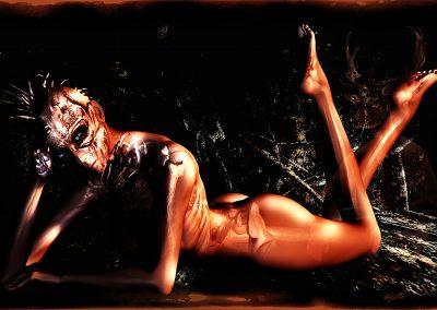 DarkArt; Punk; Skeleton; Texture