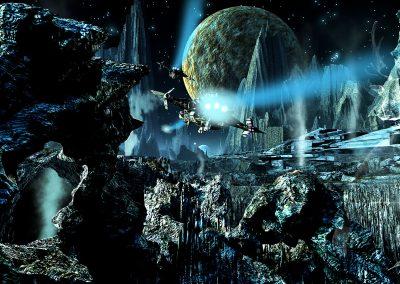 Space; Sci-Fi; Station; Spaceship