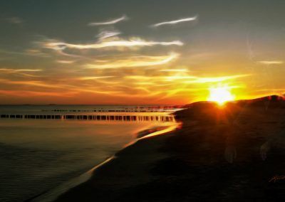 Image Editing; Oil; Soft Sunset; Glowing