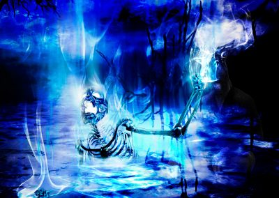 DarkArt; Skeleton; Swamp