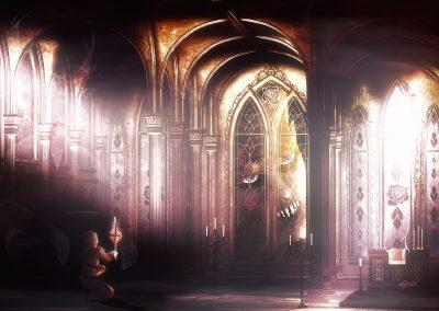 DarkArt; Evil; Church; Thunderstorm