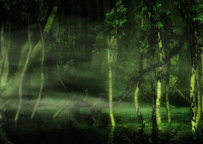 Seascape; Landscape; Swamp; DarkArt; Water; Dust; Mist