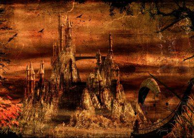 Fantasy; Castle; Elven Ship; Textures; Leather