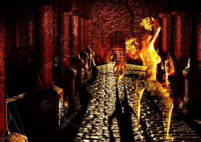 DarkArt; Cellar; Dungeon; Fire