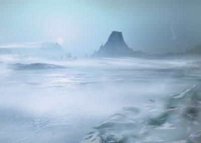 Landscape; Winter; Wintersun; Sea; Ice