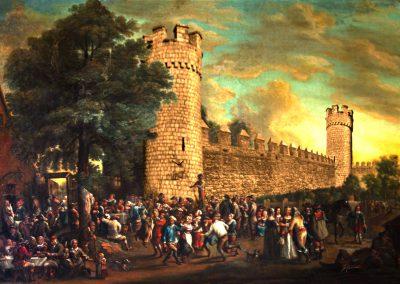 Composing; Folk Festival; Castle; Middle Age