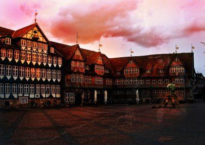Image Editing; Wolfenbüttel; Evening; Sundown