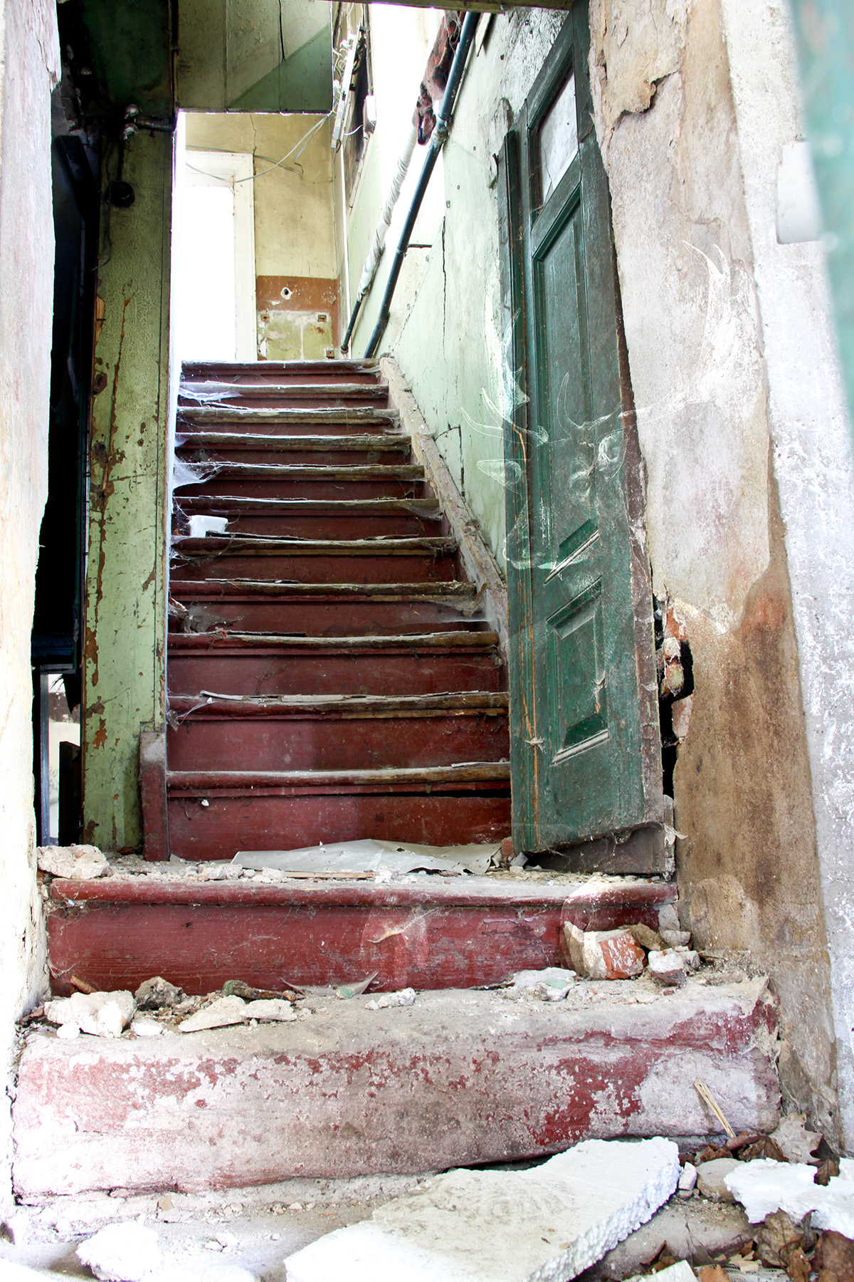 MWD 1; Contest; Stairway; Old House