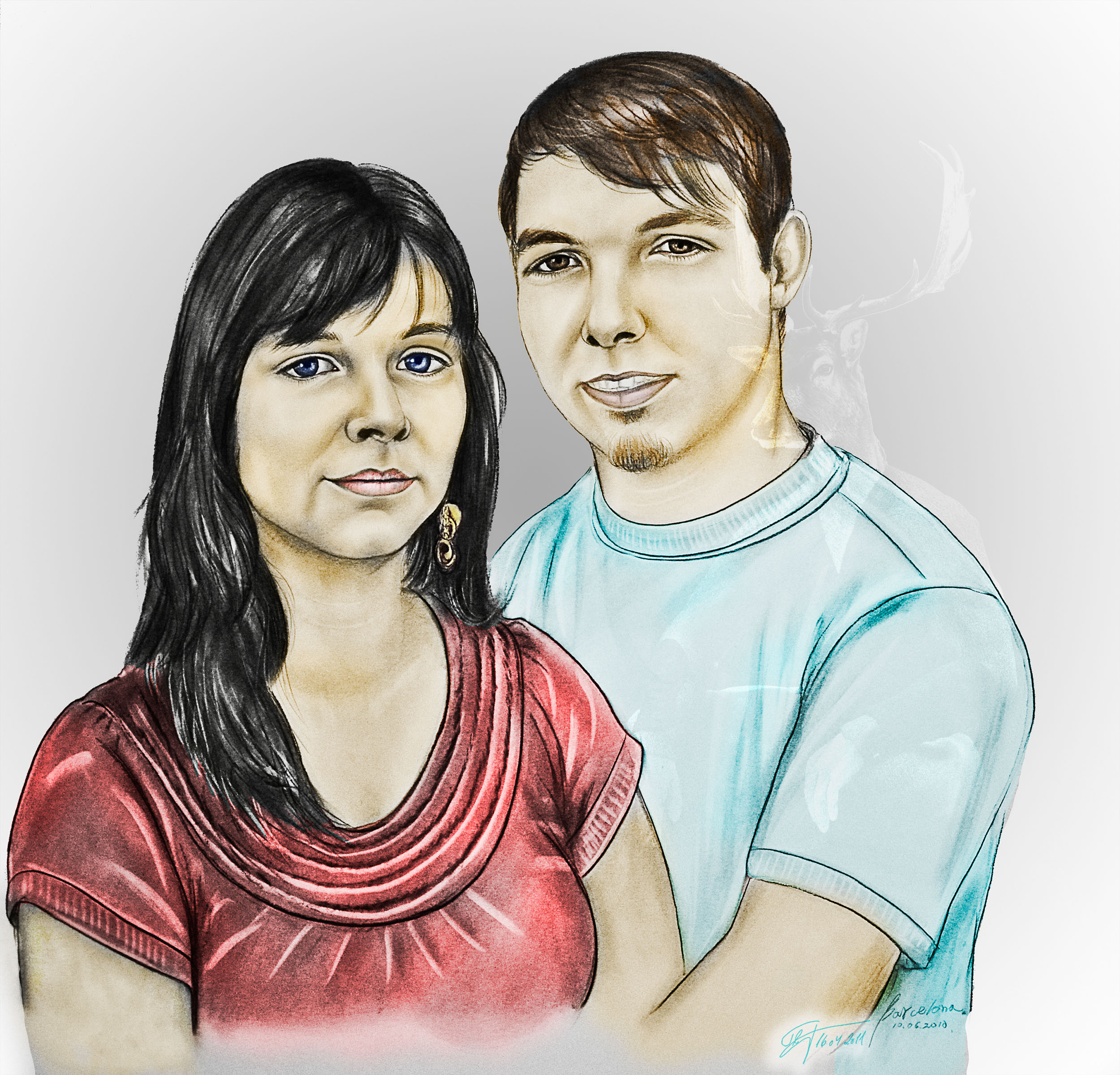MWD; Contest; Portrait; Coloring