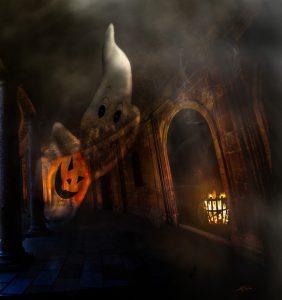 MWD 12; Contest; Ghost; Pumpkin;