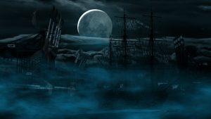 MWD 32; Contest; Port; Hamburg; Night; Ghostship; Fullmoon