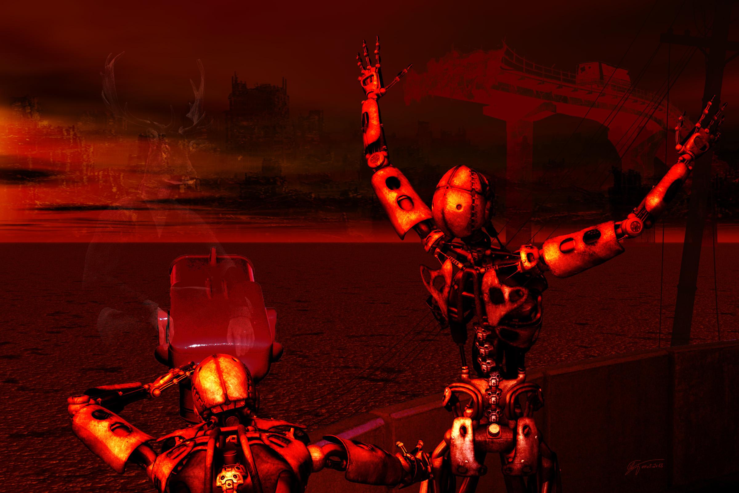MWD 37; Contest; Cyborg; Destruction; Red