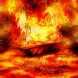 MWD 3; Contest; DarkArt; Bathlub; Fire; Flames