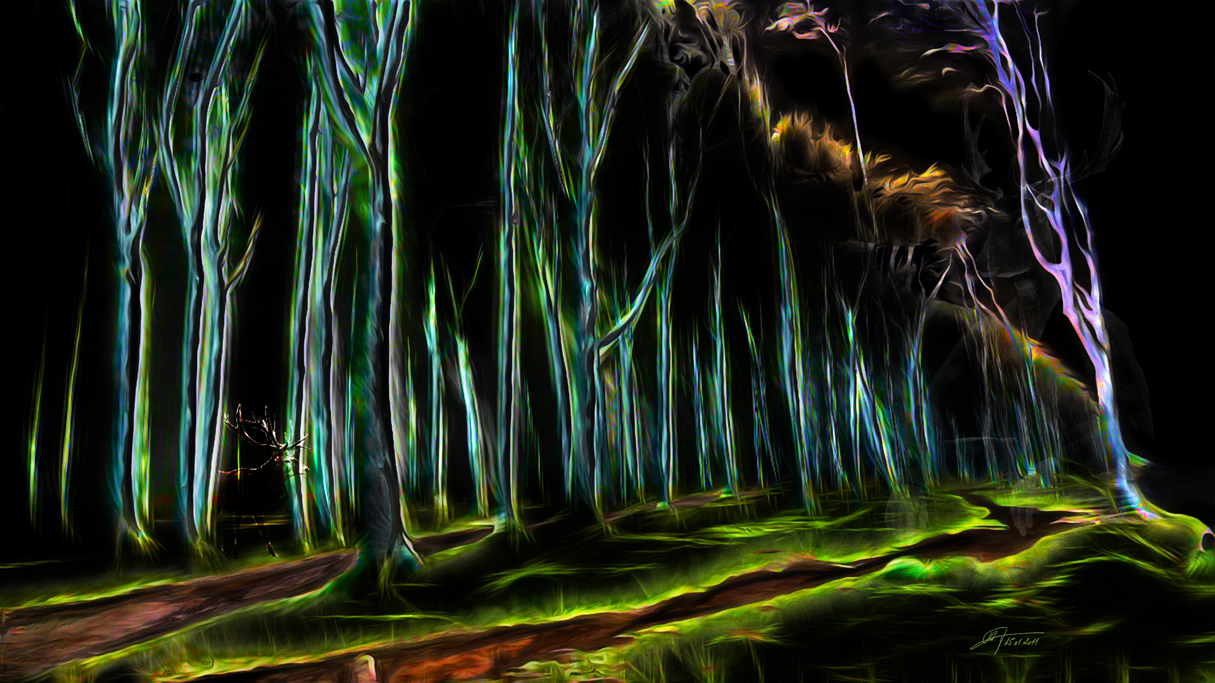 MWD 9; Contest; DarkArt; Forest; Mystic; Spooky