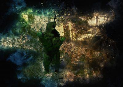 Surreal; Abstarct; DarkArt; Bear; Grunge